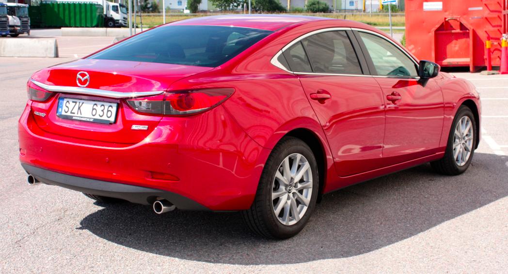 Mazda 6 , Exteriört
