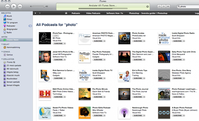 iTunes Store - Podcast Photo