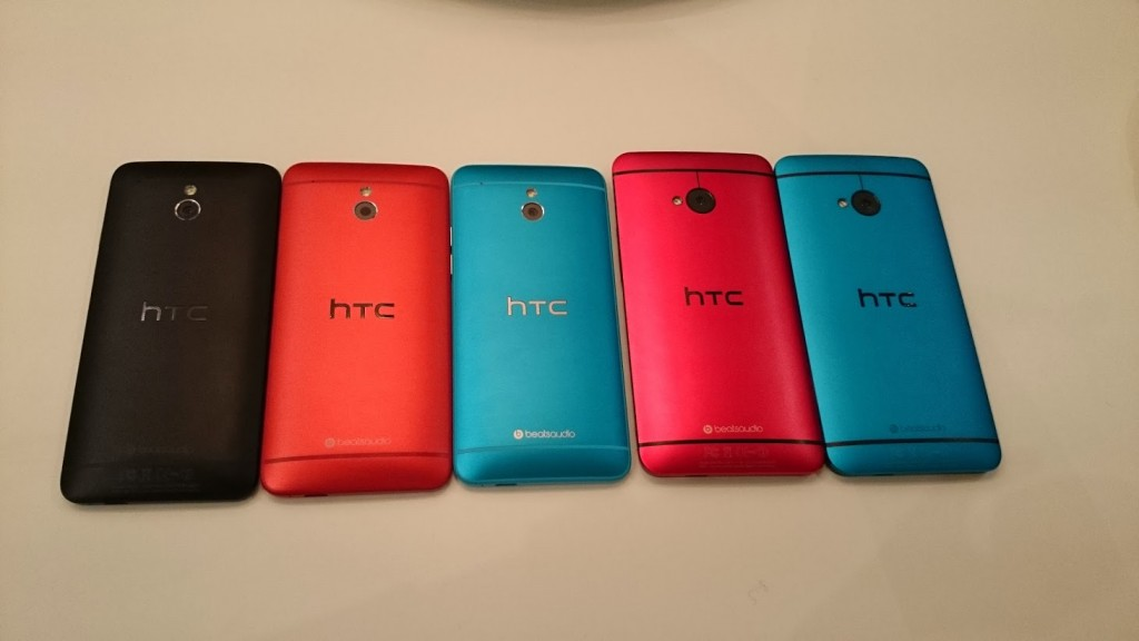 HTC one palett