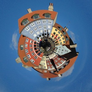 Tiny planet Nyhamn MG